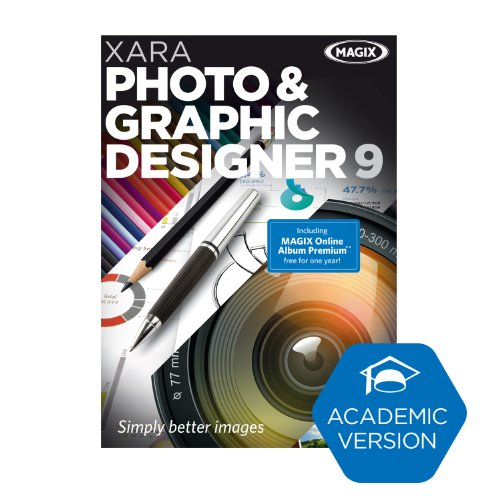 Xara Photo & Graphic Designer 9 - Academic Version [Download] by MAGIX