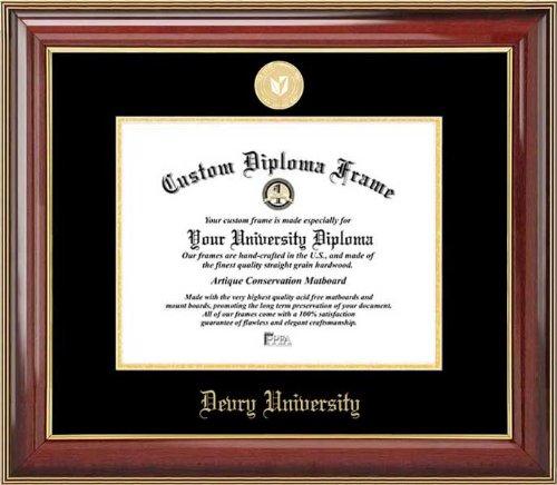 devry-university-gold-medallion-mahogany-gold-trim-diploma-frame