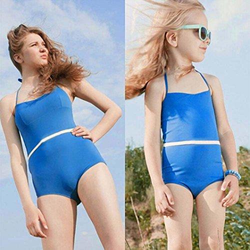 Mutter Tochter Badeanzug Frauen Kinder Mädchen Bademode Badeanzug Bikini Beachwear
