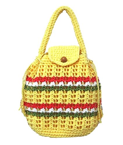 Crochet Wristlet Large Phone Wallet Work Office Lunch Break Bag Small Handle Purse for Women