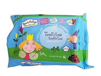 Toallitas húmedas infantiles. Caja 24 packs de 20 toallitas. Con Aloe Vera, sin