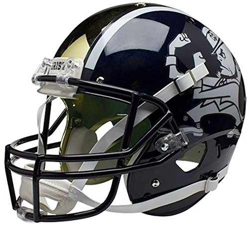 (Schutt Sports NCAA Notre Dame Fighting Irish Replica Football Helmet, ALT 1)