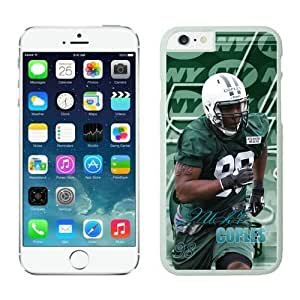 NFL iPhone 6 Plus 5.5 Inches Case New York Jets Quinton Coples White iPhone 6 Plus Cell Phone Case ONXTWKHC3105