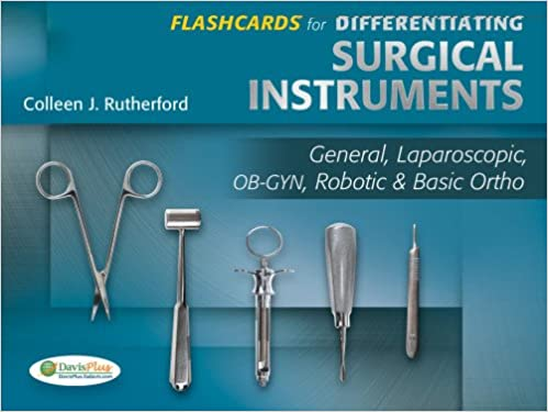 photograph regarding Surgical Instrument Flashcards Printable known as Flashcards for Differentiating Surgical Applications: Overall