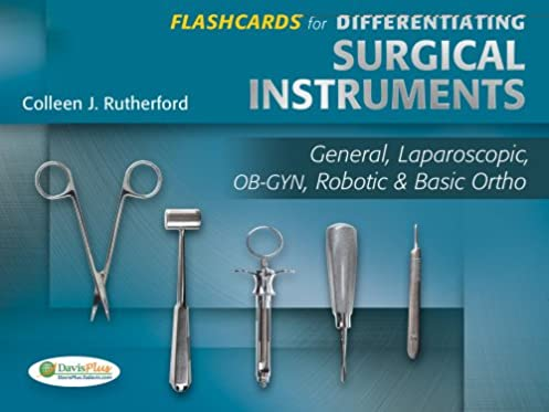flashcards for differentiating surgical instruments general rh amazon com Surgical Instruments Pictures and Names Surgical Instruments Pictures and Names