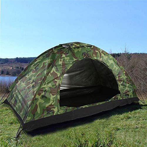 U'King Kuppelzelt Outdoor Zelt für 3-4 Personen Wasserdicht&Winddicht Schnellöffnungs Wurfzelt mit Tragetasche für…