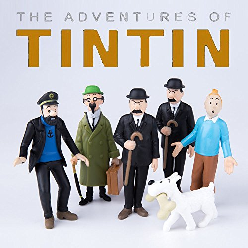 Brian May Replica (gg The Adventures of Tintin 6 PCS Action Figures Snowy Captain Haddock Thompson US)