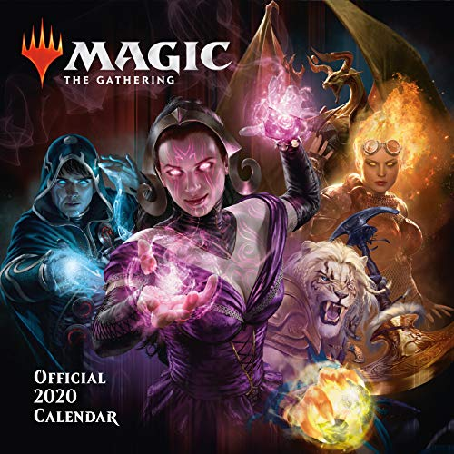 Magic: The Gathering 2020 Calendar - Official Square Wall Format Calendar