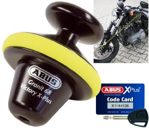 Abus Granit Victory 68 Yellowl Voll Disc Lock 14mm by ABUS