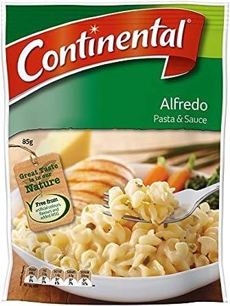 Continental Pasta con Salsa Alfredo 85g: Amazon.es: Alimentación y bebidas