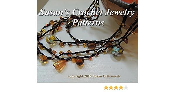 Amazon Susans Crochet Jewelry Patterns Pendants Necklaces