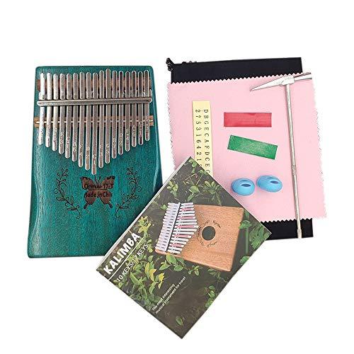 Muslady 17키 칼림바 엄지 피아노 순목악기 (옵션 : 디자인선택)
