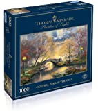 Gibsons Central Park in the Fall Jigsaw Puzzle by Thomas Kinkade (1000 pieces)
