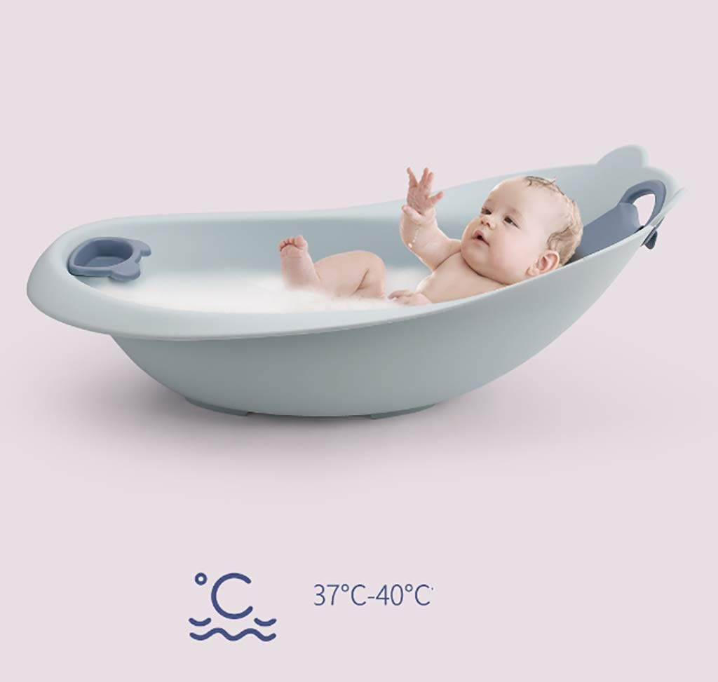 BBYP-YJ Bath Baby Bath Tub in with Slide Protection Inside and Anti-Slip Protection (Color : A) by BBYP-YJ (Image #6)