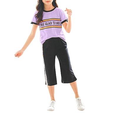 Camisetas para niños Pantalones chándal Deportivo Teen Rainbow ...