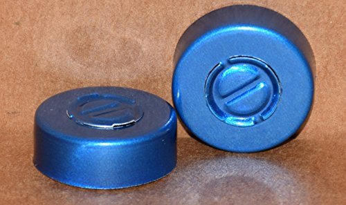20mm Blue Center Tear Aluminum Seal - Pack of 100