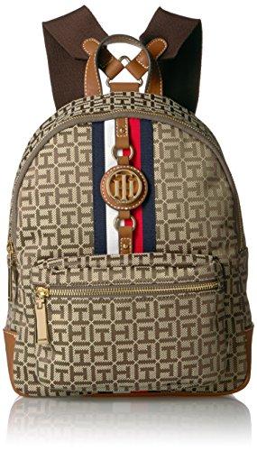 Tommy Hilfiger Women's Backpack Jaden, Tan Dark Chocolate by Tommy Hilfiger (Image #1)