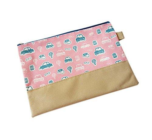 2Pcs File Organizer Fashion Office Products Storage Bag File Pocket