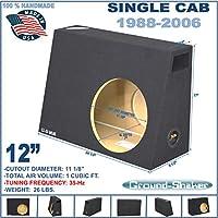 Regular cab / Single cab 12 single ported sub box sub woofer enclosure Ground-shaker
