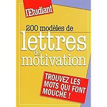 200 modèles de lettres de motivation