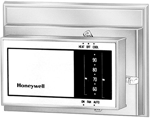 Honeywell, Inc. T8034C1085 Heating and Cooling Thermostat, Taupe, Horizontal (Cooling Thermostats Heating Honeywell)