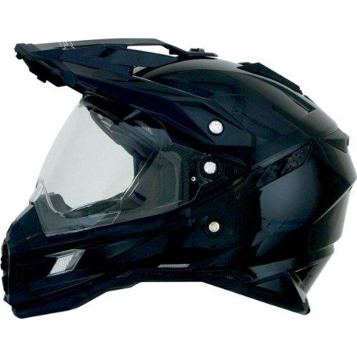 AFX FX-41DS Solid Helmet , Gender: Mens/Unisex, Helmet Type: Offroad Helmets, Helmet Category: Offroad, Distinct Name: Black, Primary Color: Black, Size: Md 0110-3744