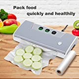 Thaisan7, Professional Food Vacuum Sealer Food Saver Machine Sealing System + Storage Bag,Storage Meal -14''W x 5.9'' D x 2.7'' H