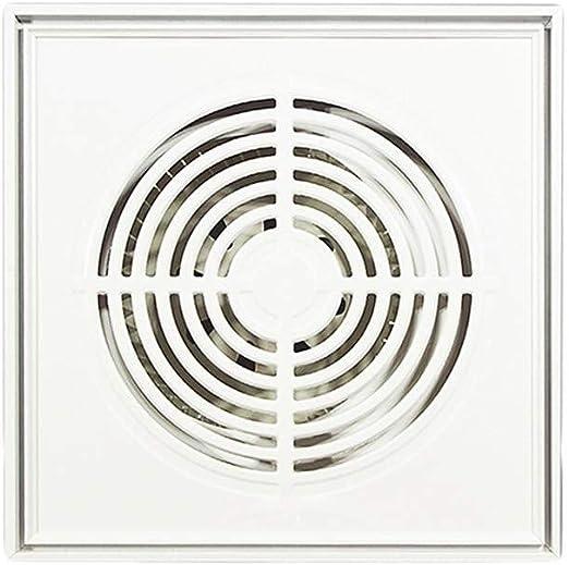 Ventilación Extractor Ventilador de escape de 30 * 30 cm Ventilador de escape de cocina Ventilador cuadrado potente Ventilador de escape de metal Ventilación: Amazon.es: Hogar