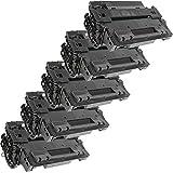 5 Inkfirst® Toner Cartridges CE255X (55X) Compatible Remanufactured for HP CE255X Black LaserJet P3015X P3015 P3015D P3015DN P3015N
