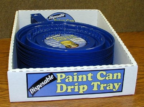Curtis Wagner Plastics Corp. Paint Can Drip Tray 9' by Curtis Wagner Plastics Corp. (Image #1)