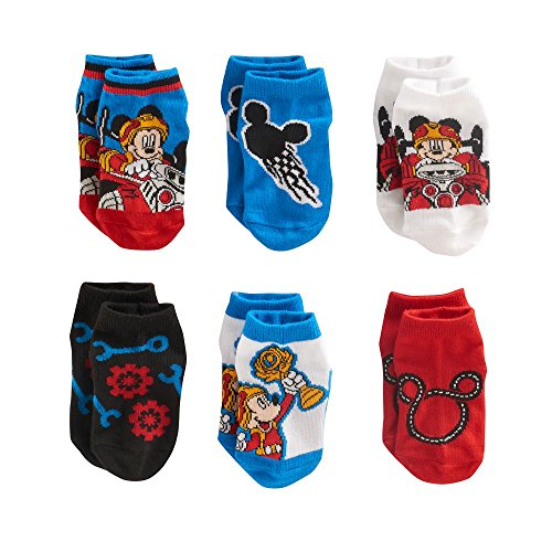 Disney Mickey Mouse Clubhouse Socks 2T-4T 6 Pair