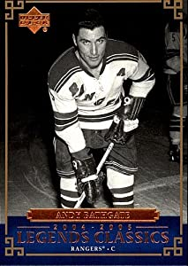 2004 Upper Deck Legends Classics Andy Bathgate # 9 Rangers