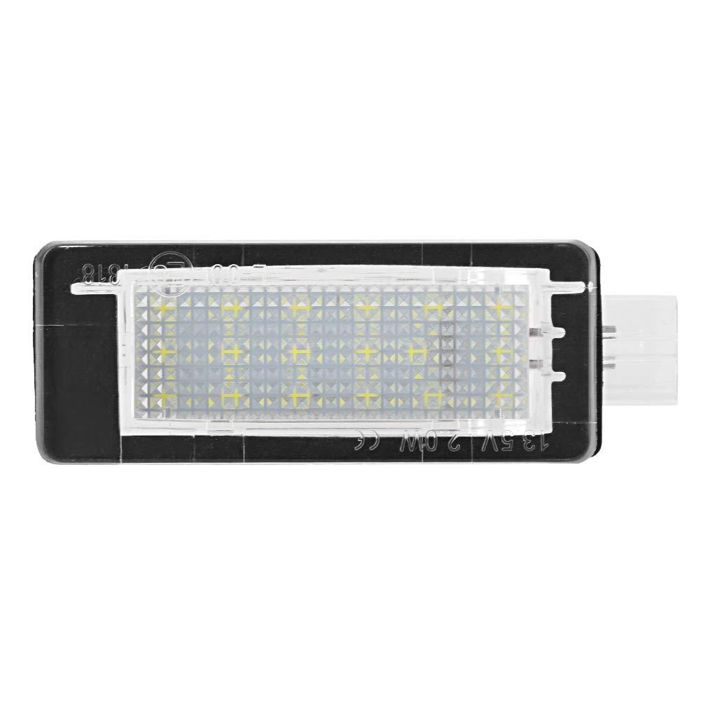 Luces de Placa de Matr/ícula La l/ámpara de Luz LED de la placa de Matr/ícula del N/úmero de Coche Libre de Error 2pcs para el Plumero 2010-2015