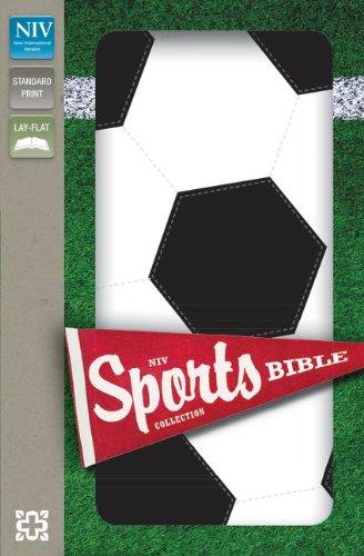 Price comparison product image NIV, Sports Collection Bible: Soccer, Imitation Leather, Black/White