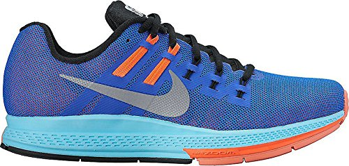 Nike Zoom Structure 19 Flash Women Running Trainers 806579 Sneakers Shoes (9.5 B(M) US Women / 10 D(M) US Men, Azul (Rcr Bl / Rflct Slvr-Hypr Orng-Bl))