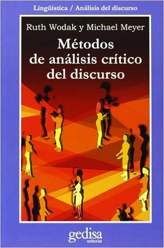 Metodos de análisis crítico del discurso (Cla-De-Ma): Amazon ...