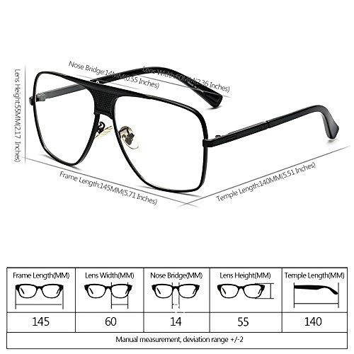 de del Vendimia Marco Aire la sol de Gafas Libre Hombres Estilo Metálico UV400 al XFentech la de 05 Protección xpwaq7vWI5