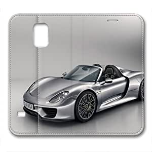 custom and diy for samsung galaxy S5 leather case porsche 918 spyder by jamescurryshop,car for samsung galaxy S5 leather case by supermalls