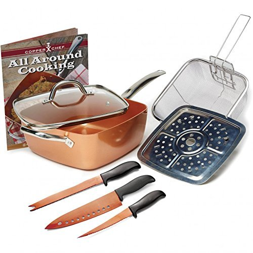 Jack Lalanne Copper Chef Set