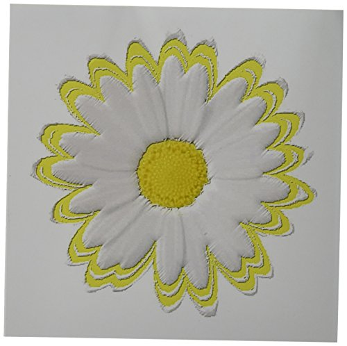 3dRose Greeting Cards, Yellow and White Daisy, Set of 6 (gc_38798_1)