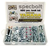 150pc Specbolt Yamaha vintage YZ IT Bolt Kit 125 175 200 250 400 425 465 490 500 Maintenance Restoration YZ125 IT175 IT200 YZ250 IT250 MX360 YZ400 IT400 IT425 YZ465 IT465 YZ490 IT490 WR500 MX DT GT WR