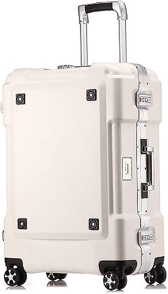 JMFHCD Maleta De Viaje Equipaje Impermeable TSA Lock Aduanas 360° Muda Rueda Universal De Spinner ABS + PC (20 Pulgadas)