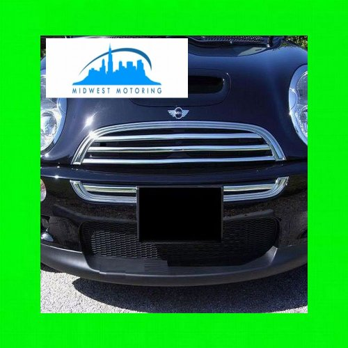 312 Motoring fits 2006-2011 MINI COOPER CHROME TRIM FOR GRILL GRILLE 2007 2008 2009 2010 06 07 08 09 10 11 S