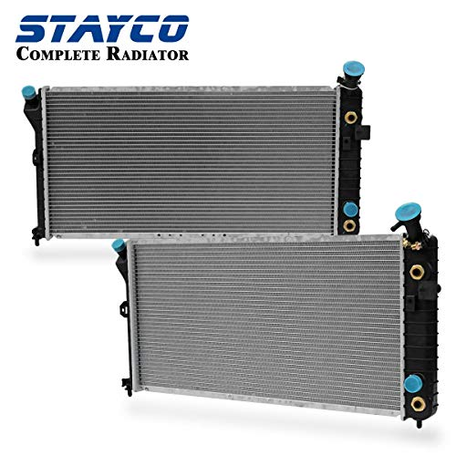 STAYCO Radiator Replacement for Buick Century Regal Chevrolet Venture Oldsmobile Intrigue Silhouette Pontiac Montana Grand Prix Trans V6 3.1L 3.8L 3.4L Replacement# CU1889