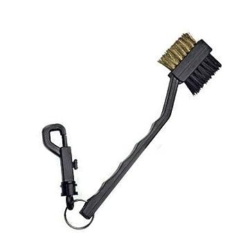 Cepillo de limpieza de doble cara con clip para palos de ...
