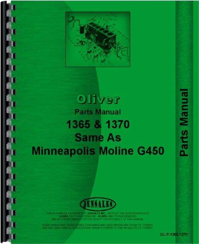 Cockshutt Tractor Parts Manual (1365 Tractor | 1370 Tractor)