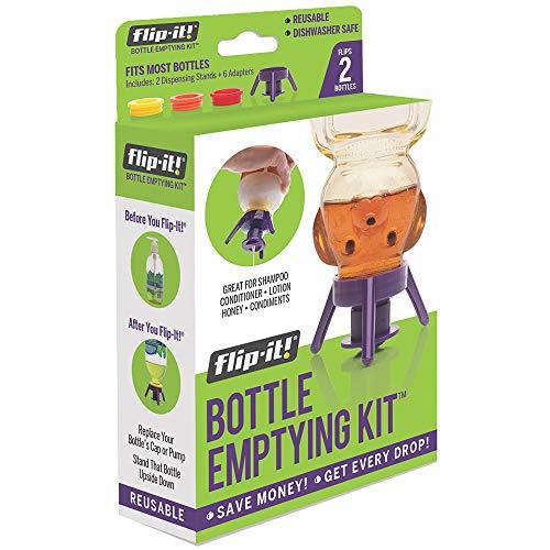 - Flip-It FL4X2APB Bottle Emptying Kit, Kitchen/All-Purpose, 2-Pack