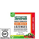 TheraBreath Dry Mouth Lozenges, Tart Berry Flavor, 24 Lozenges