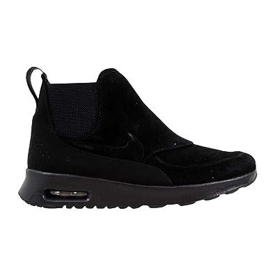 357cf5e38f Amazon.com | Nike Women's Air Max THEA Mid (Black/Black-MTLC Pewter ...