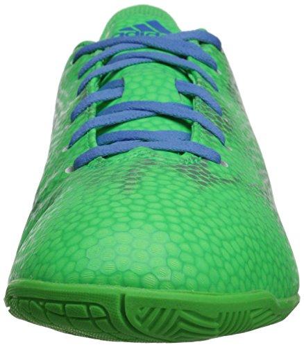 Adidas Performance F5 cubierta de zapatos de fútbol Ww, Flash verde / azul afortunado / metalizado Flash Green/Lucky Blue/Metallic/Silver
